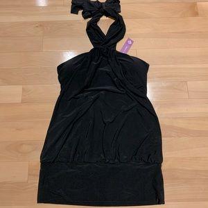 Women's Brand new black halter top - size M-BNWT